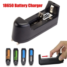 18650 Battery Charger For 3.7V 18650 16340 14500 Li-ion Rechargeable Battery Multifunction Portable Charger EU/US Plug portable universal dual battery charger for 18650 16340 cr123a battery smart charger black