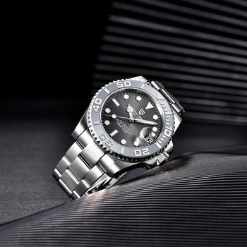 PAGANI Design Men Automatic Watch Sapphire Luxury Mechanical Wristwatch Stainless Steel Waterproof Watch Men Mekaniska klockor 5