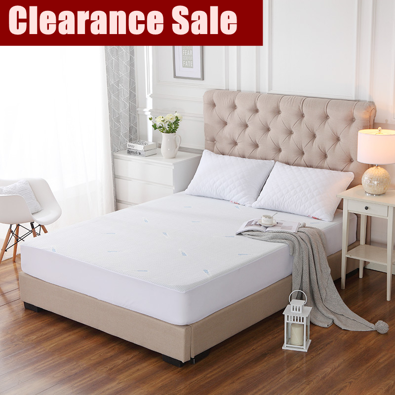 Clearance Sale Coolmax Jacquard Anti-mite Waterproof Mattress Cover Breathable Hypoallergenic Bed Protection 1pc
