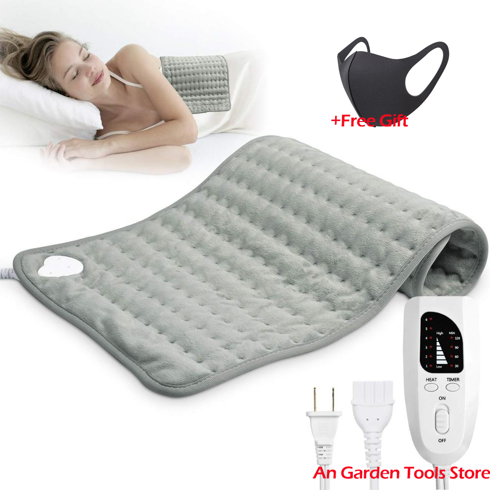 Heating Heated Blanket Electric Mat LED Indicator Intelligent Temperature Control Warm Blanket For Neck Shoulder Abdomen Care