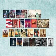 Декоративный плакат на стену металлический Новый Винтажный домашний