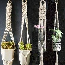 Лидер продаж хорошее качество растение ручной работы hange подвесное растение комнатный горшок вешалка для растений