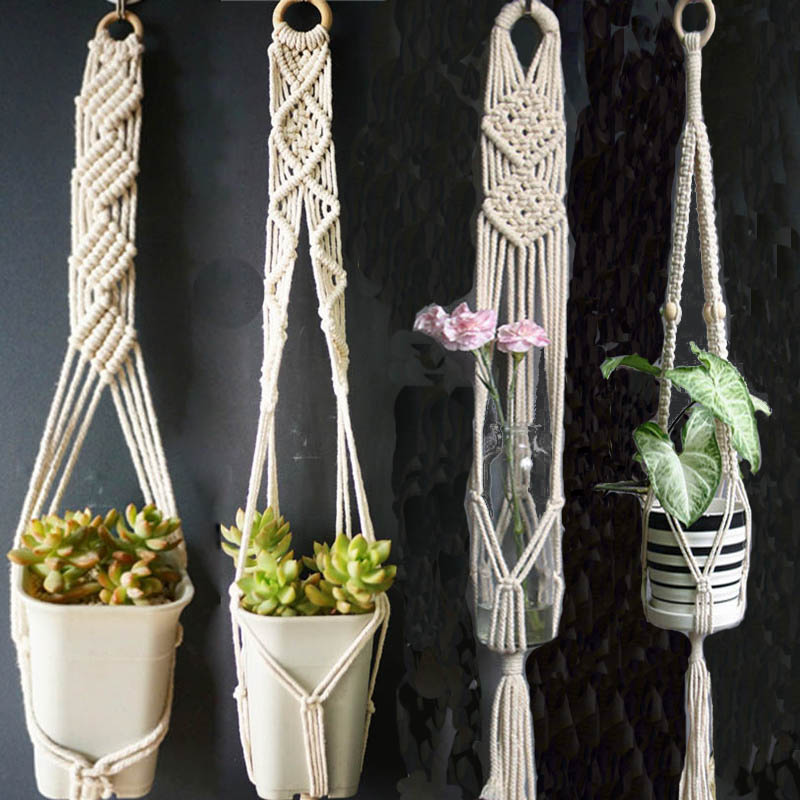Hot Sales Good Quality 100% Handmade  Plant Hange Hanging Plant Indoor Pot Hanger Plant Hanger