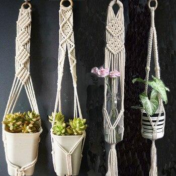 Hot sales good quality 100% handmade  plant hange hanging plant indoor pot hanger plant hanger Garden Pots & Planters