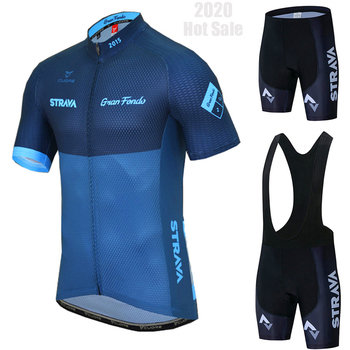 2020 equipe strava ciclismo jerseys bicicleta wear roupas de secagem rápida bib gel define roupas ropa ciclismo uniforme maillot sport wear 1