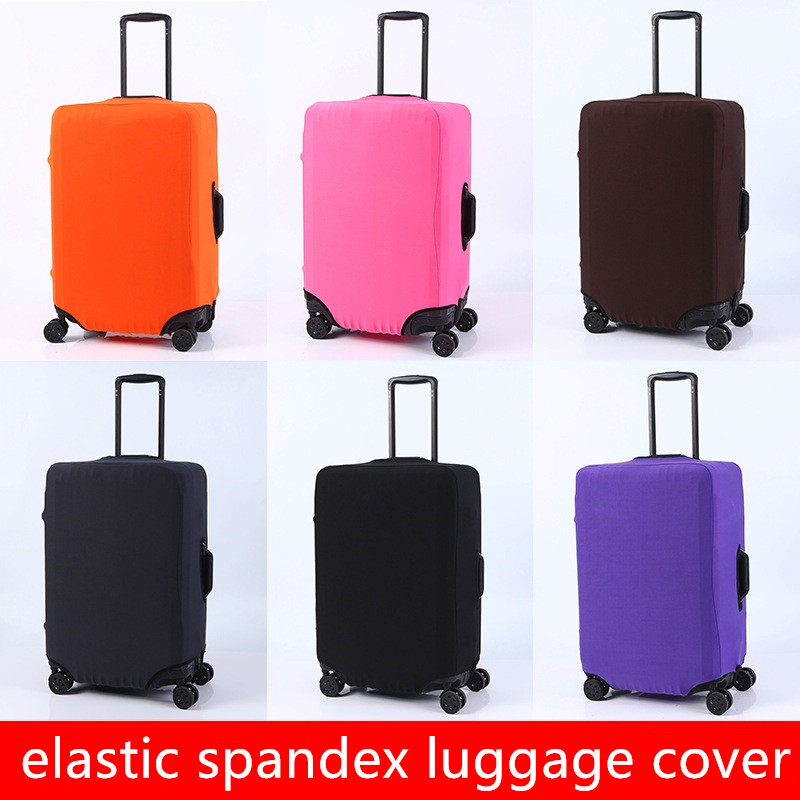 Thickened Wear-resistant 20/24/28/30 Inch Luggage Protective Sleeve Elastic Suitcase Dustproof Trolley Case Cover