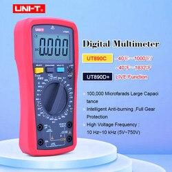 UNI-T UT890C/UT890D + cyfrowy multimetr true rms zakres ręczny AC DC pojemność częstotliwości nowe produkty  promocja niskiej ceny