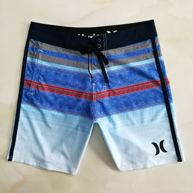 Hurley Asked Wave Multi-Clothing Beach Shorts Casual Pants Athletic Pants Shorts Household Outdoor Swimming Seaside