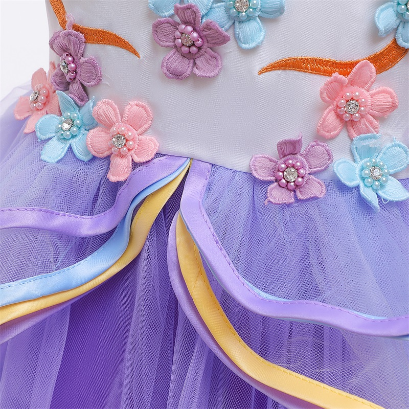 Hdba506e72c23405a89b4cf03cfc15056P Vintage Flower Girls Dress for Wedding Evening Children Princess Party Pageant Long Gown Kids Dresses for Girls Formal Clothes