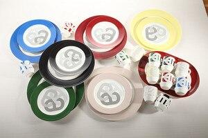 Image 3 - 1 шт поднос 6 шт кружки 160 мл костяной фарфор набор кофейных чашек набор
