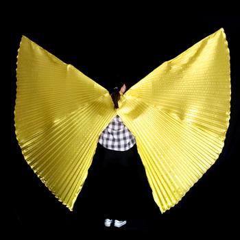 Skrzydła tańca brzucha skrzydła Isis akcesoria bez patyczków torba dla dorosłych Bollywood orientalne egipskie skrzydła egipskie kostiumy dla dzieci tanie i dobre opinie YI NA SHENG WU Dziewczyny YLEW1002 Taniec brzucha Poliester spandex NYLON