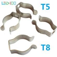 Nouveaux supports de Clip de Tube Fluorescent T8 T5, support de Tube 1