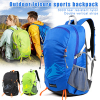 Newly 30L Nylon Backpack Student Outdoor Travel Camping Hiking Bag Men Women Lightweight Casual Sports Backpack