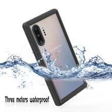 IP68 étui de téléphone étanche pour Samsung Galaxy Note 20 10 Plus 9 8 étui de protection étanche pour Samsung S9 S10 S20 Ultra
