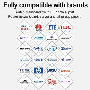 Image 2 - 10G SFP+ duplex LC SFP Module Multi Mode 850nm 300m  SFP 10G SR with Cisco/Mikrotik/Huawei Switch Full Compatible