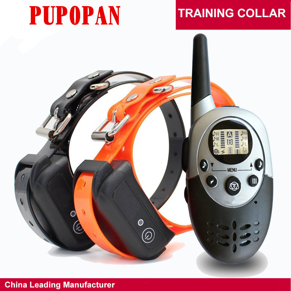 Manufacturers Direct Selling New Style 1000 M Waterproof Remote Control Zhi Fei Qi Dog Trainer IP7 Pet Trainer Neck Ring