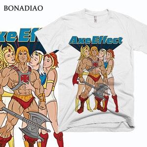 Футболка Funny He-man Masters of the Universe, футболка с уникальным дизайном для мужчин, хлопковая Футболка большого размера с S-6XL