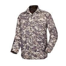 цены на New Mens Quick-drying Shirt Jacket Cotton Tooling Zip Shirt Fashion Casual Long Sleeves Tops Shirts Outdoor Riding Jacket Cloth  в интернет-магазинах