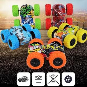 Baby Toys RC Car 2.4G Stunt Drift Deformation Buggy Car Rock Crawler Roll Car 360 Degree Flip Kids Robot RC Car Toys Gifts