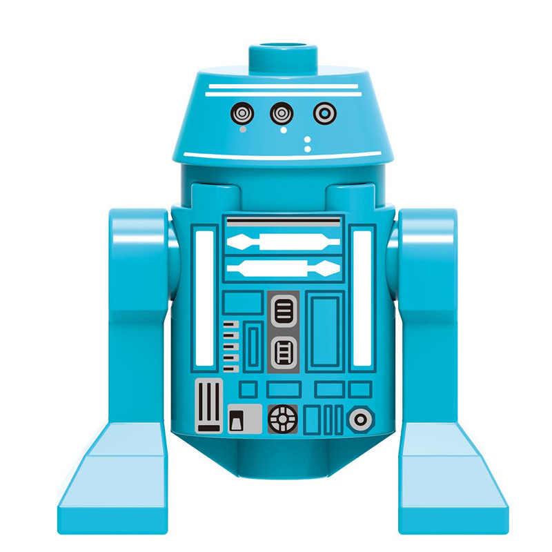 حرب النجوم أرقام الطفل يودا المندولوريان المحارب فرسان رن سيث تروبر روبوت دارث فيدر حرب النجوم ألعاب مكعبات البناء