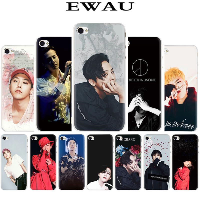 EWAU G-DRAGON <font><b>BIGBANG</b></font> GD Hard Phone Cover Case for iphone 5 5S SE 5C 6 6s Plus 7 8 Plus X XR XS MAX image
