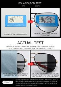Image 4 - ファッションデザインパイロットサングラス男性偏光安全運転メガネフォトクロミック女性男性ドライバーの眼鏡 gafas デ · ソル hombre