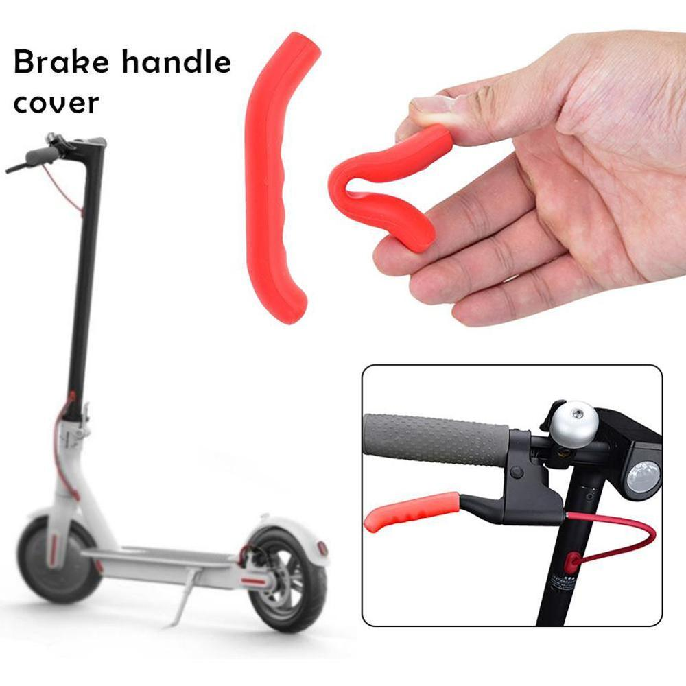 2pcs Brake Handle Grips <font><b>Protector</b></font> Cover for <font><b>Xiaomi</b></font> <font><b>Mijia</b></font> <font><b>M365</b></font> Electric Scooter image