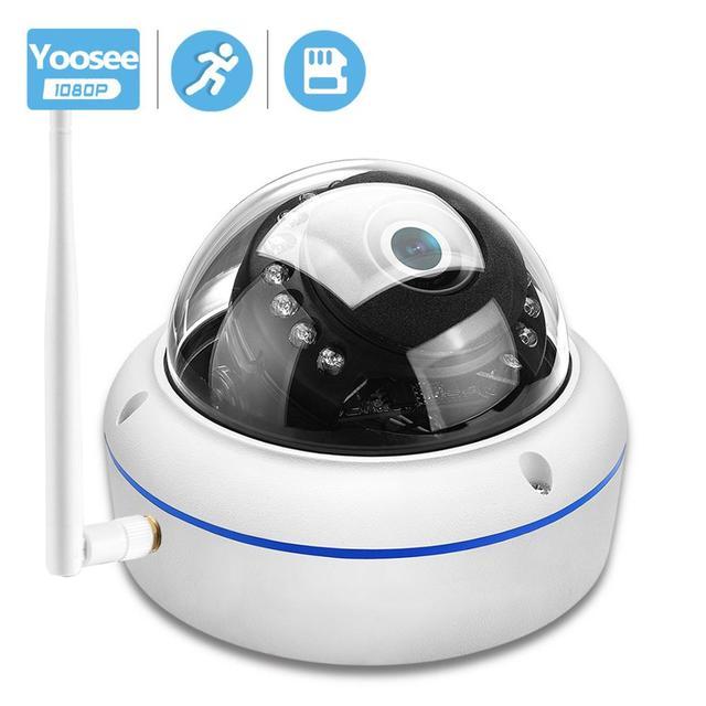Besderワイヤレス 1080p ipカメラバンダルプルーフセキュリティドームカメラwifiナイトビジョンモーション検出onvif yoosee onvif rtsp P2P