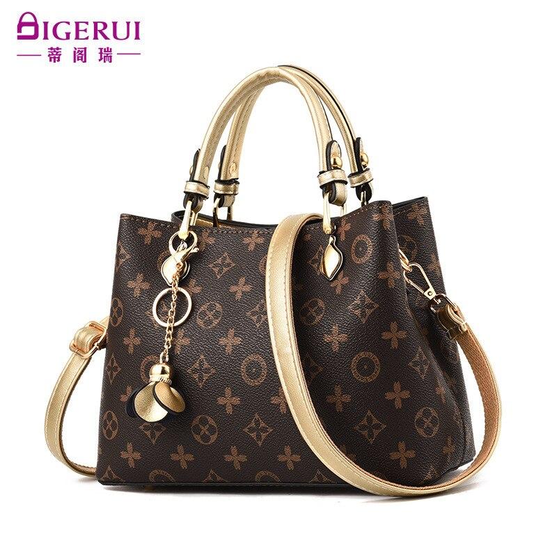 New Lous Vuiton Package 2020 Printed Bucket Simple Women Bag Fashion Handbag Single Shoulder Bags Crossbody Bag Lady's Handbags