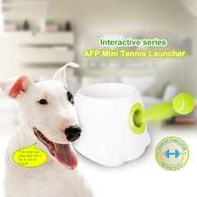 Automatic Ball Thrower Dog Pet Toys Tennis Launcher Automatic Throwing Machine Pet Ball Throw Device With 3 Balls Dog Training