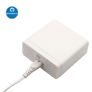 Image 2 - Multiport usb Hub Intelligente Schnelle Ladestation Smart Digital Display 6 Port USB Ladegerät Hub für Smartphone Schnelle Lade