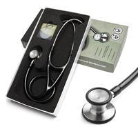 Профессиональный стетоскоп с двойной головкой, кардиологический стетоскоп, медицинский стетоскоп, медицинское оборудование, оборудование...