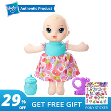 Hasbro The Baby Alive Lil' Slumbers doll Educational Toys Kids Toys Girls Toys Ages 18 Months And Up For Early Baby Alive Fans цена