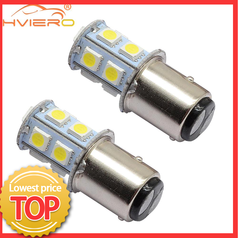 1156 BA15S 1157 BAY15D <font><b>P21W</b></font> BA15D 13Led 5050 Car <font><b>Led</b></font> Turn Parking Signal Lights Brake Tail Lamps Auto Rear Reverse <font><b>Bulbs</b></font> DC 12V image