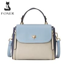 FOXER Women's Crossbody Handbag Fashion Shoulder Bags Large Capacity Totes Lady Medium Messenger Bag Female Luxury Woman Purse