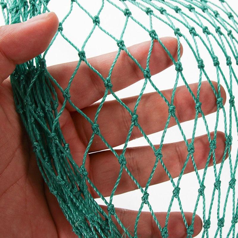 Anti rede de rede de aves pesada cerca de jardim e culturas de proteção esgrima malha anti pássaro cervos gato cão rede de frango rede de pesca