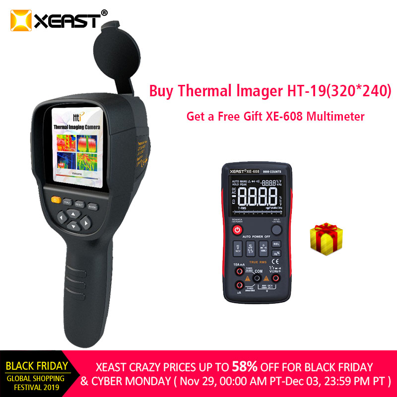 2019 New Arrival HT-19 Infrared Thermography Camera With High Resolution Of 320*240 And Thermal Imager USB Interface XE-26
