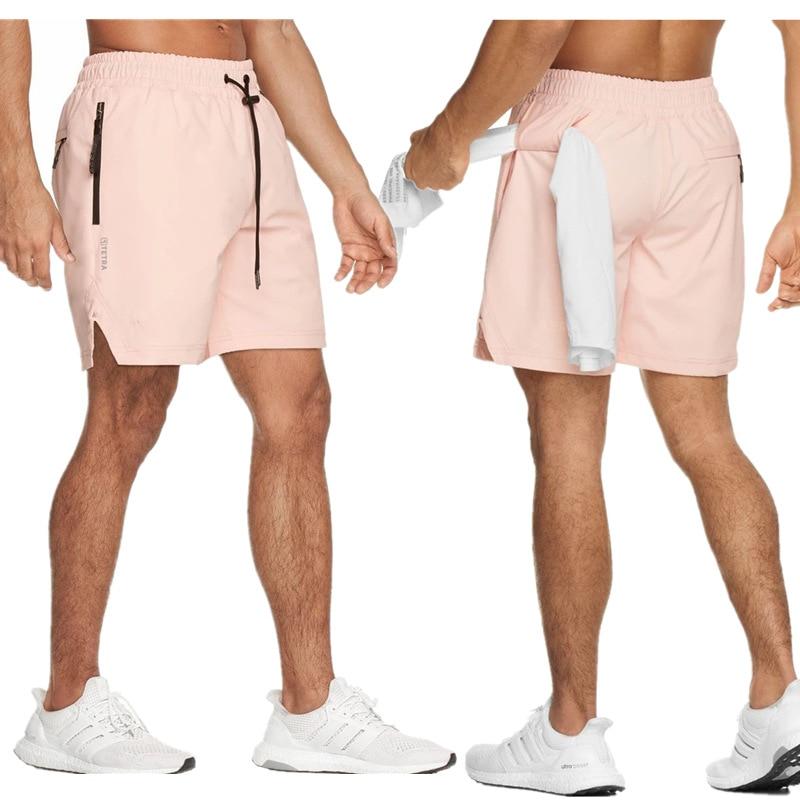 2020 Newest Summer Running Shorts Men Sports Jogging Fitness Shorts Quick Dry Mens Gym Men Shorts Sport Gyms Short Pants Men