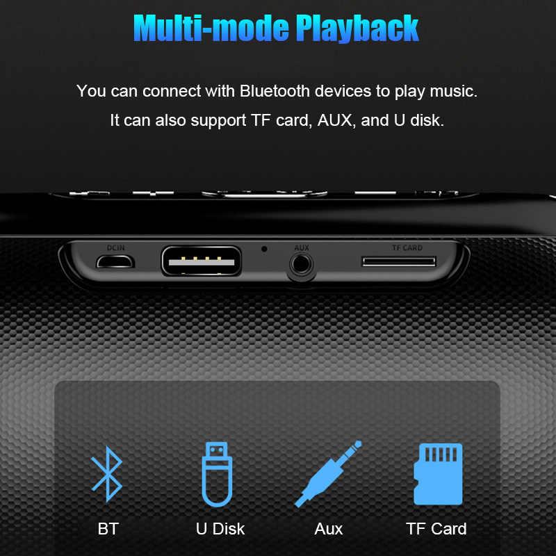 ミニポータブルワイヤレス Bluetooth スピーカーステレオスピーカーフォンラジオ音楽サブウーファー列コンピュータ tf FM S518