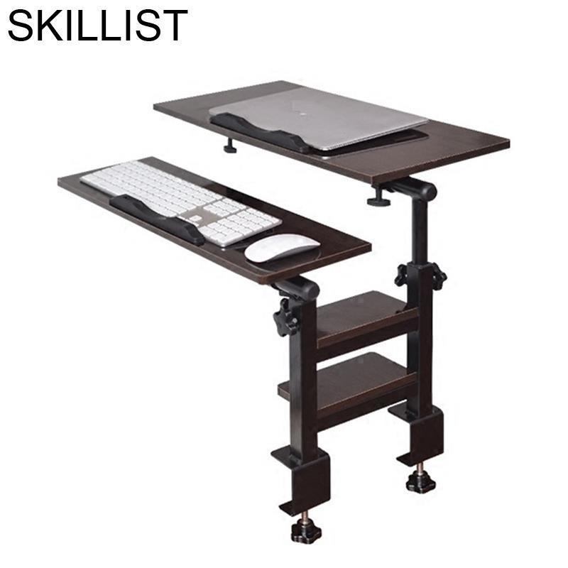 Para Portatil Stand Schreibtisch Standing Bed Notebook Office Furniture Small Adjustable Mesa Bedside Study Table Computer Desk