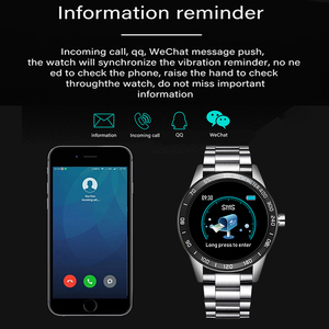 Мужские Смарт-часы LIGE, водонепроницаемые спортивные часы с пульсометром, измерением артериального давления, фитнес-трекер, шагомер, reloj inteligente, 2019