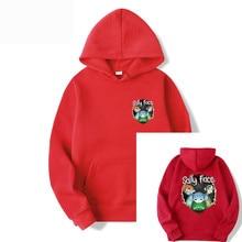 Fleece Polyester Pullover Coat Men Hoodie Hooded printing letter Casual  Cotton Sweatshirts Hip Hop Mens Street Style Hoodies