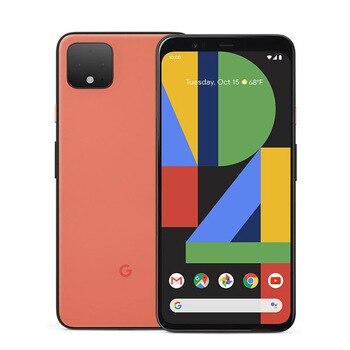Перейти на Алиэкспресс и купить Абсолютно новый оригинальный Google Pixel 4 XL мобильный телефон 1440x3040 6 ГБ ОЗУ 64 Гб ПЗУ Восьмиядерный Snapdragon 855 6,3 дюйма NFC Смартфон