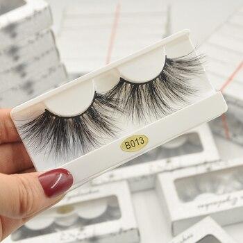 Wholesale Eyelashes 30 Pairs 3d Mink Lashes  False Eyelashes Hand Made Makeup Eye Lashes 25mm 3D Mink Eyelashes in Bulk