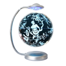 And Globe Levitation Floating World-Map for Office Eu-Plug Led-Lights Netic 88-Constellations