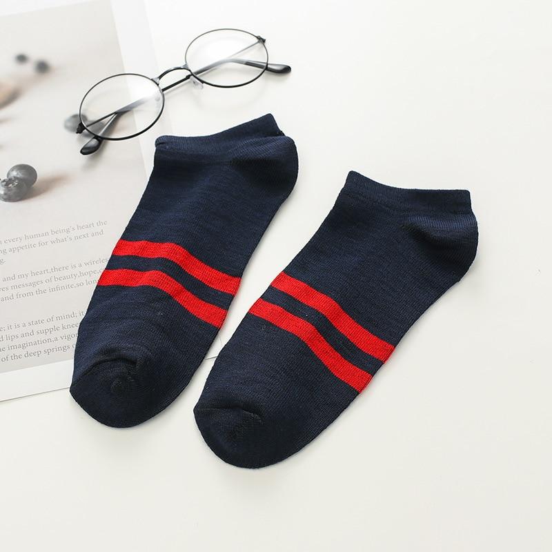 Socks Spring And Summer Cotton Socks Men's Wholesale Sports Short Socks Two-Branched Men Short Men's Socks No-show Socks Men's