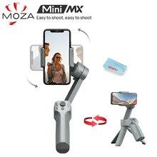 Moza عصا سيلفي محمولة ، Mini MX ، 3 محاور ، لهاتف iPhone 11 Pro Xs Max Xr X 8 Plus 7 ، هاتف ذكي Galaxy Huawei