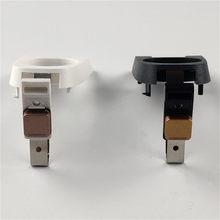 Siyah beyaz renk düğmeleri IQOS 2.4 artı düğme şarj kutusu Ecig tamir aksesuarları