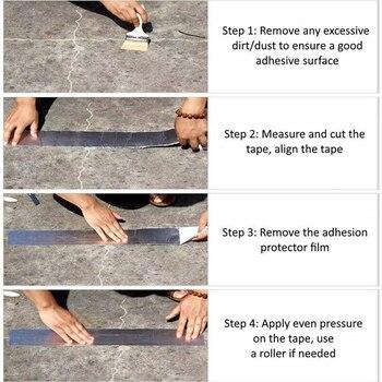 Flex Tape - Aluminum Foil Butyl Rubber Tape 9