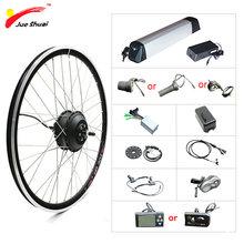 36V 10AH 500W Ebike Conversion Kit Elektrische Bike Kit 20'' 24'' 26'' 700C 29'' Hub Vorne Hinten Motor rad Kit Bicicleta Electrica
